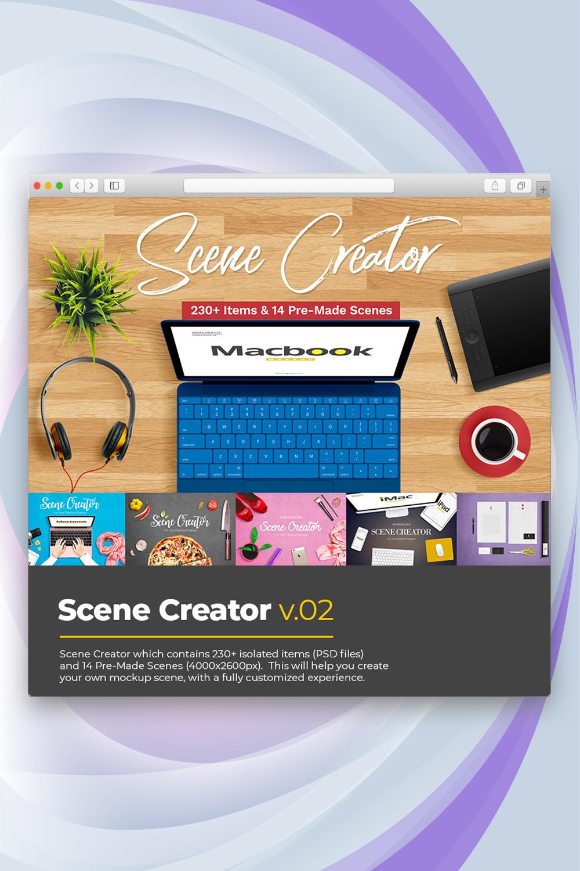 Scene Creator v2 Product Mockup