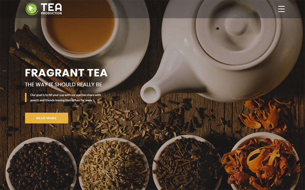 TEA Production HTML Template