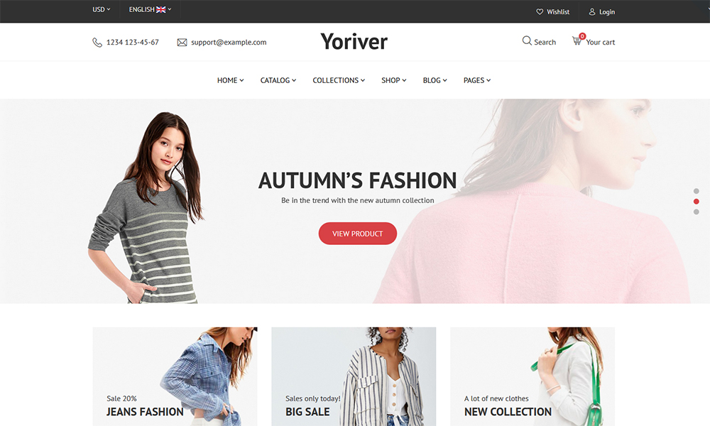 Yoriver - The Best of Fashion Theme WooCommerce Theme target=