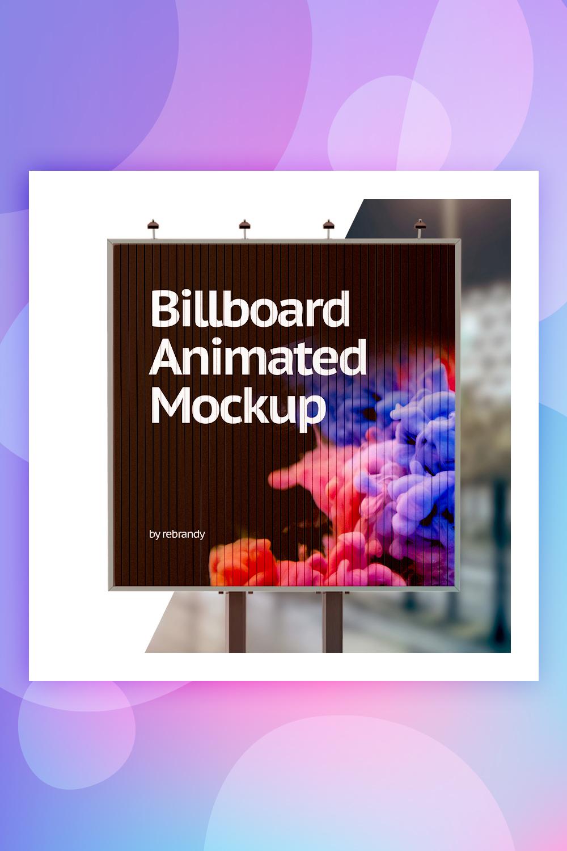 Billboard Animated Product Mockup