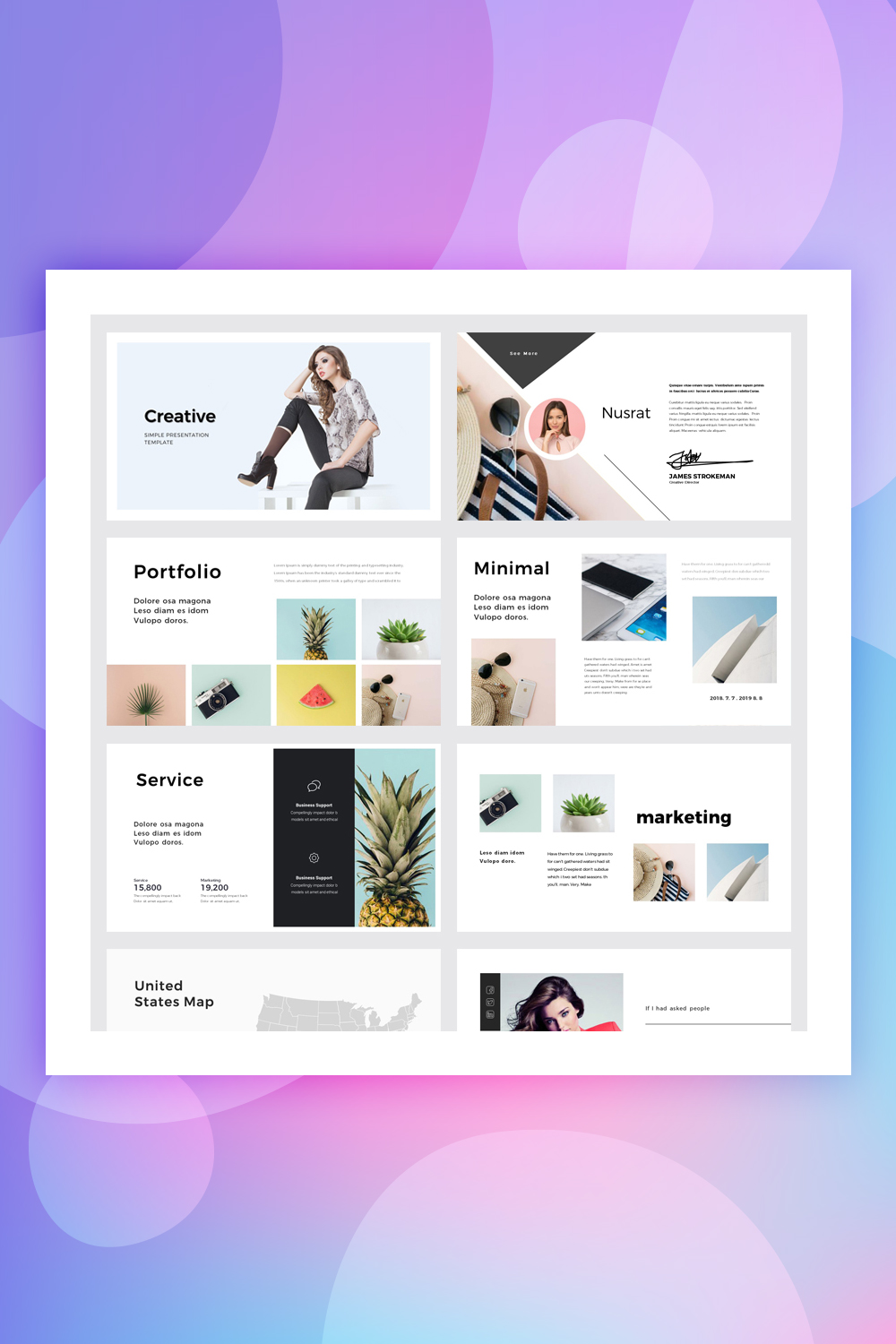 Be-Creative PowerPoint Template