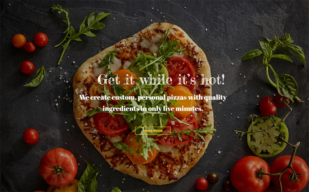 Pizzeria - Pizza Maker Website Template