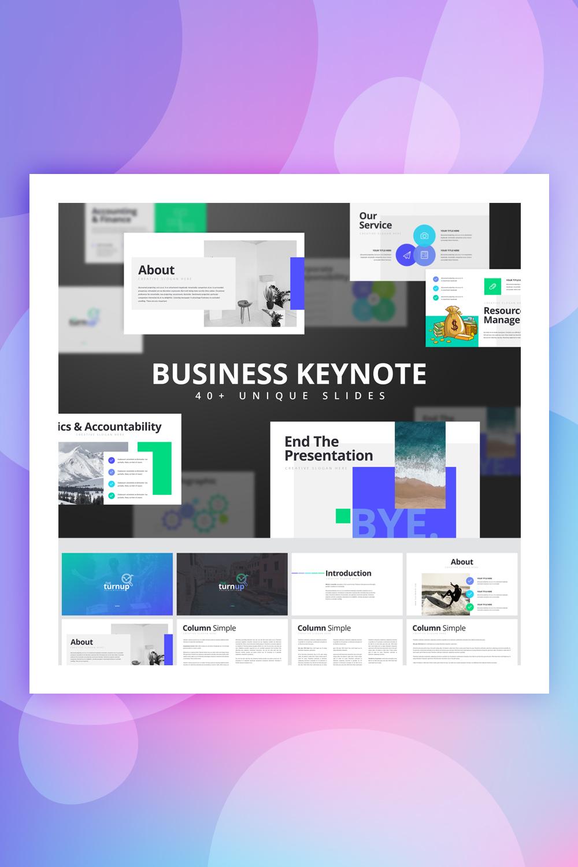 Trunup - Multipurpose Business Keynote Template