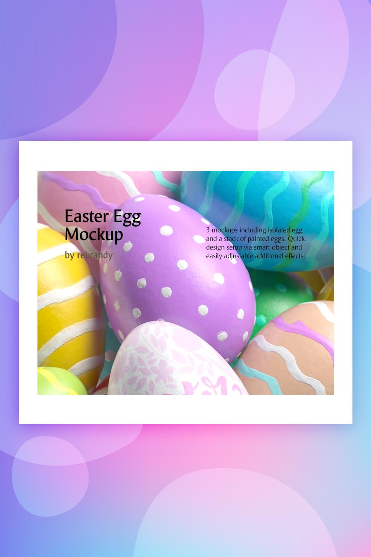 Easter Egg Product Mockup
