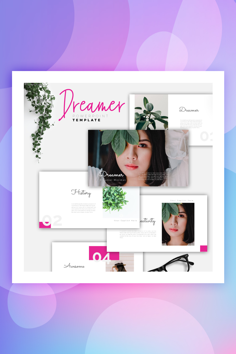 DREAMER - Creative PowerPoint Template