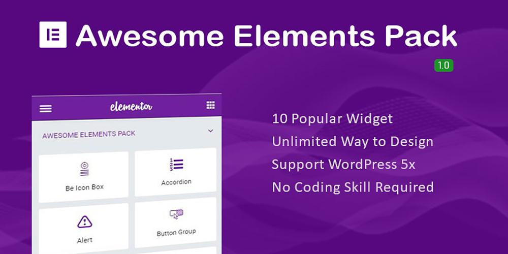 Awesome Elements Pack WordPress Plugin