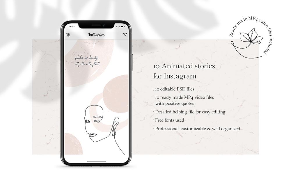 ANIMATED Instagram Stories – Lina Social Media