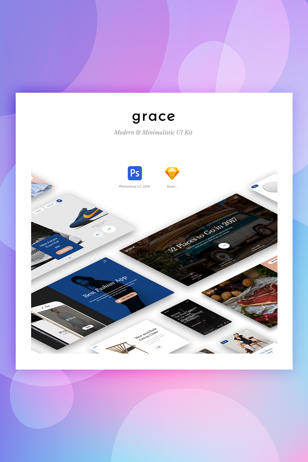 Grace UI Kit UI Elements
