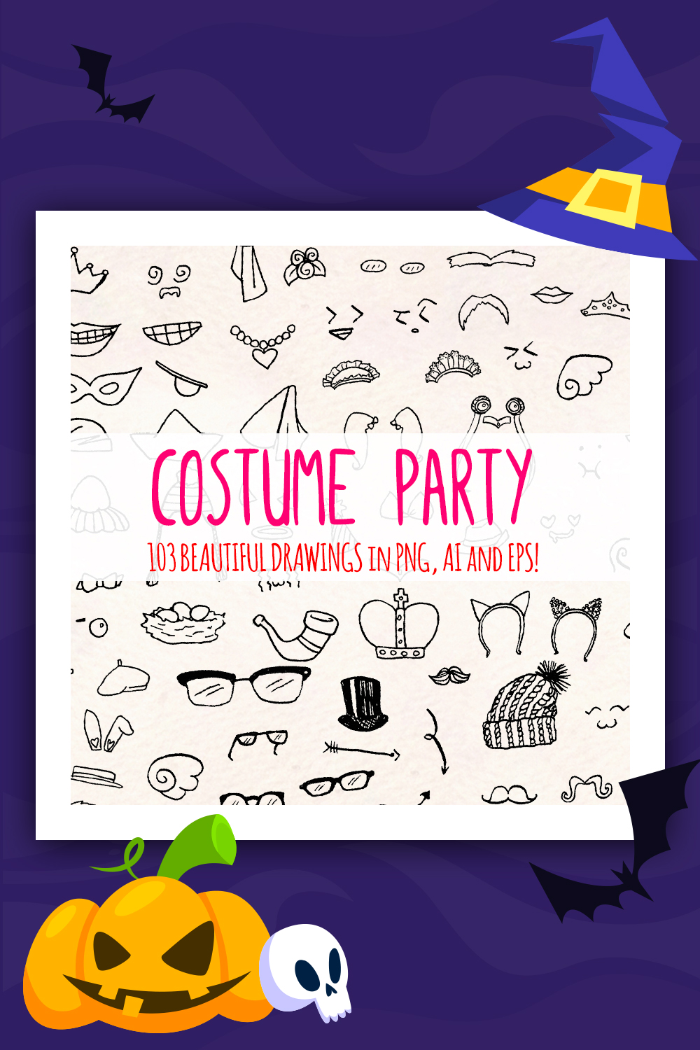 103 Fancy Dress Costume Drawings Illustration