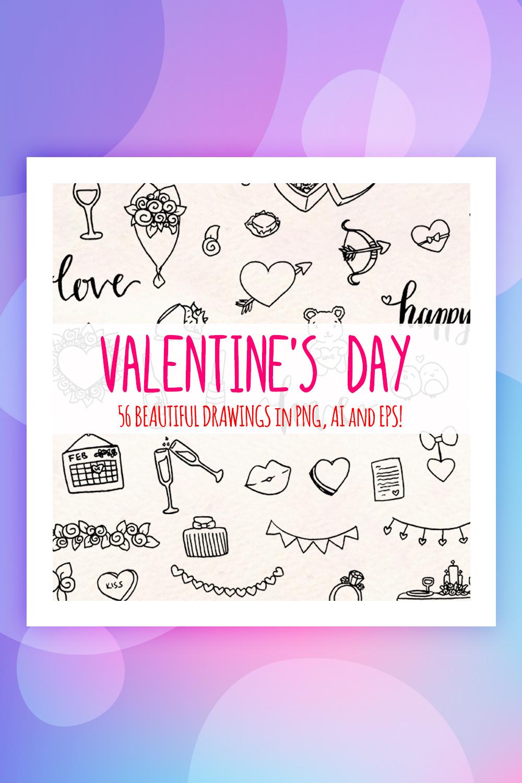 56 Romantic Valentines Day Illustration