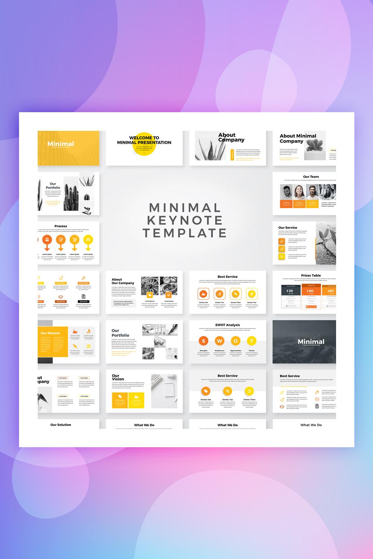 Minimal - Business Presentation Keynote Template