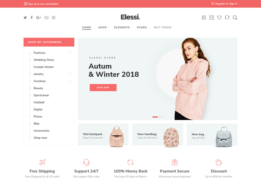elessi ajax woocommerce theme