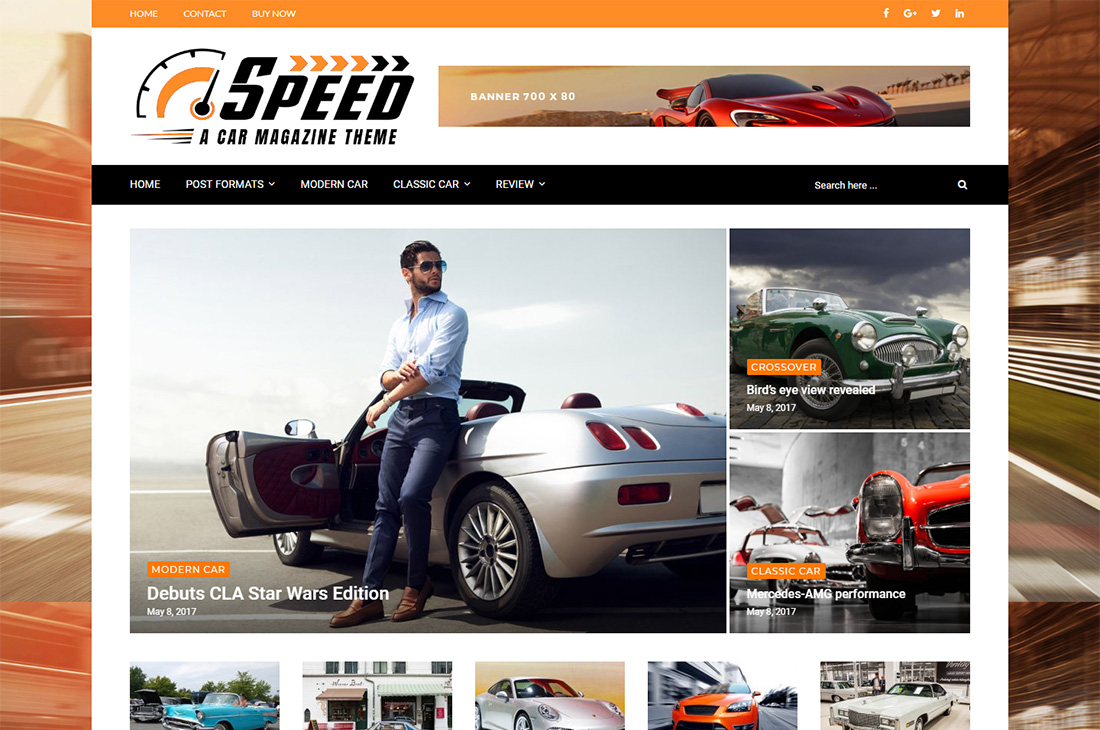 higher place cars magazine wordpress themes