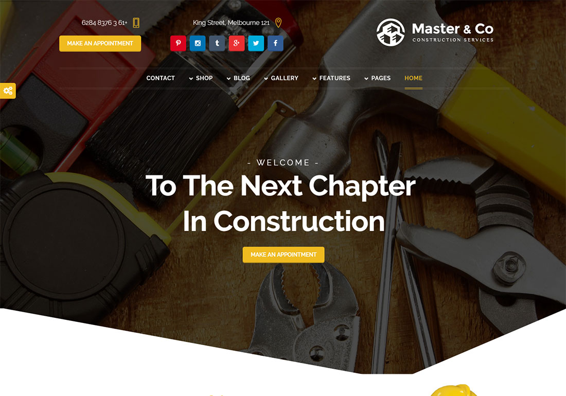 Beauty & Construction Services - HTML