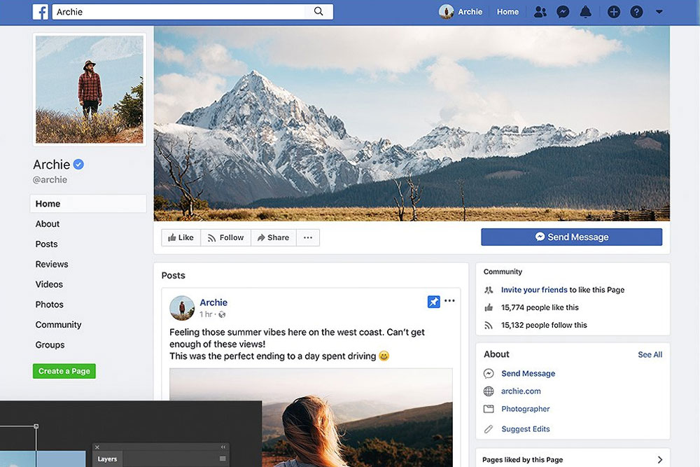 32 Best Facebook Mockups For Your Facebook Marketing - Colorlib