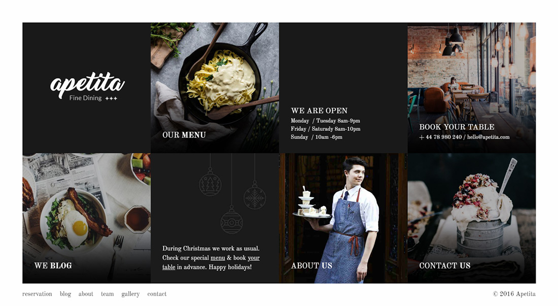 Apetita Food Truck WordPress Theme