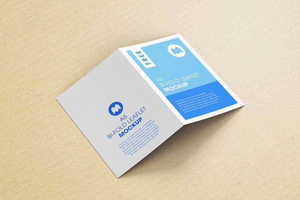 pamphlet mockup