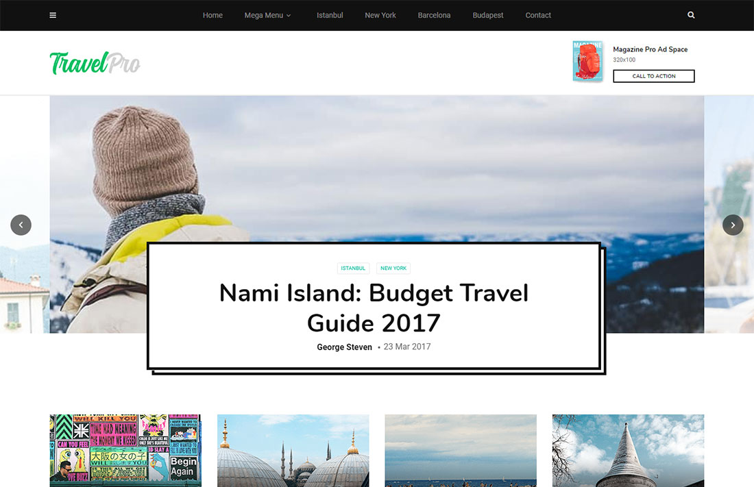magplus travel magazine theme