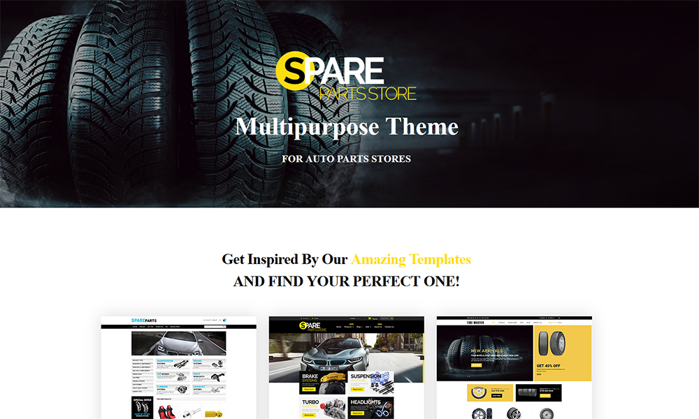 Tire Master - Wheels & Tires Multipage Clean Shopify Theme