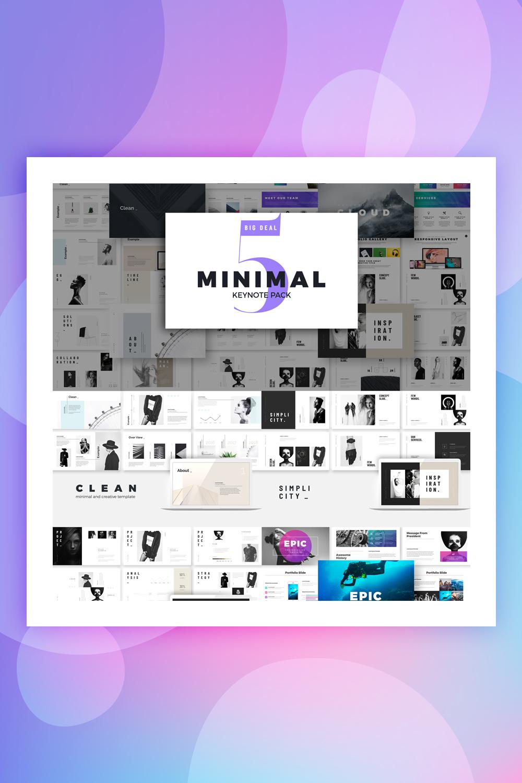 Minimal Presentation - Keynote Template