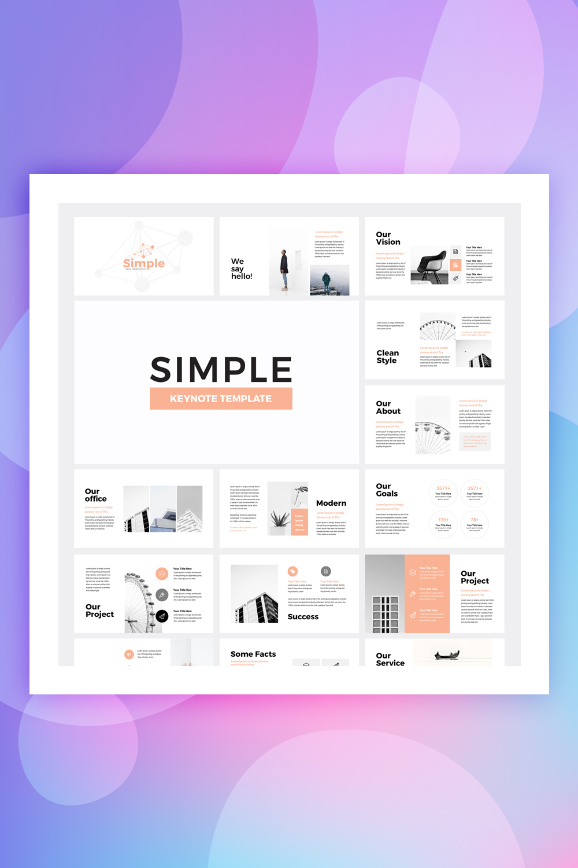 Simple Business Keynote Template