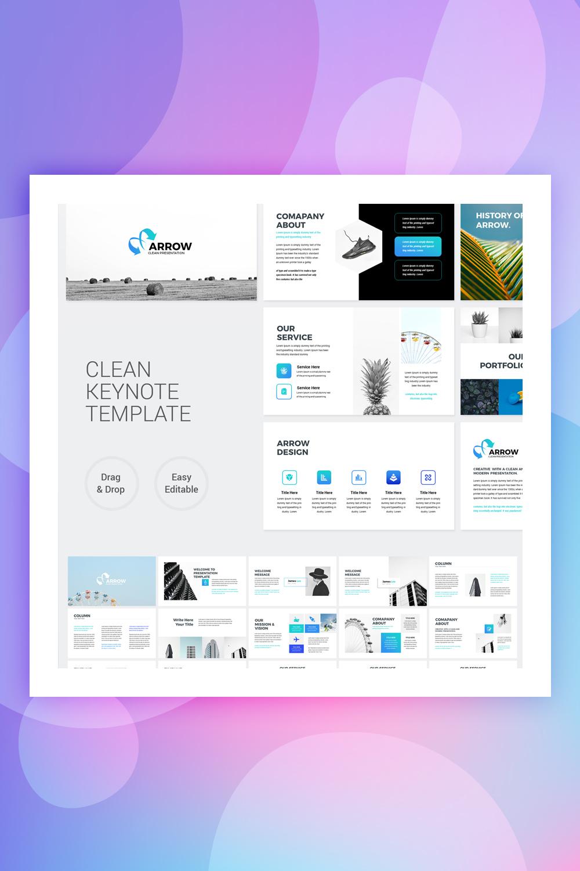 Arrow - Clean Business Keynote Template