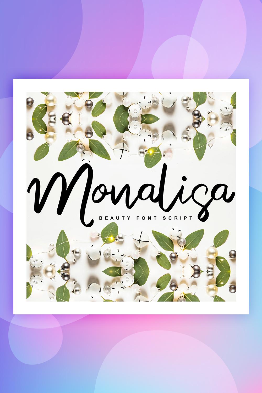 Monalisa | Beauty Script Handwritten Font