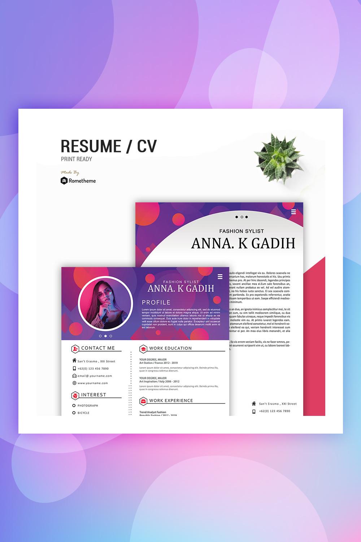 Anna K Gadih Resume Template