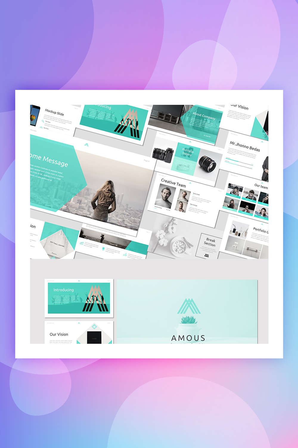 Amous - Keynote Template