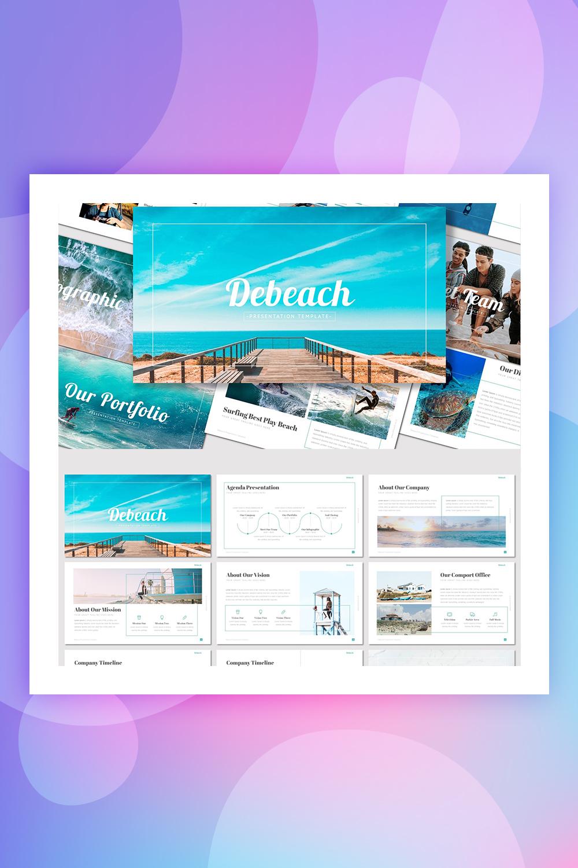 Debeach - PowerPoint Template