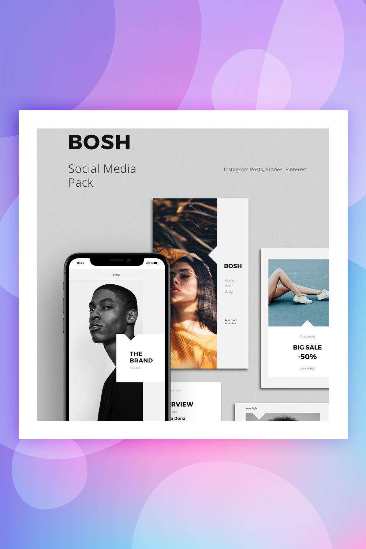 BOSH - Pack Social Media