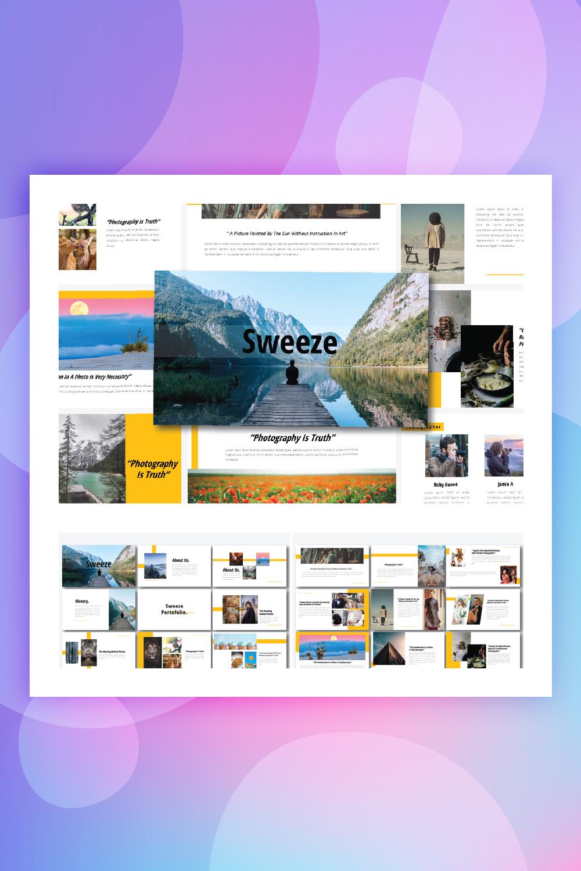 Sweeze - Keynote Template