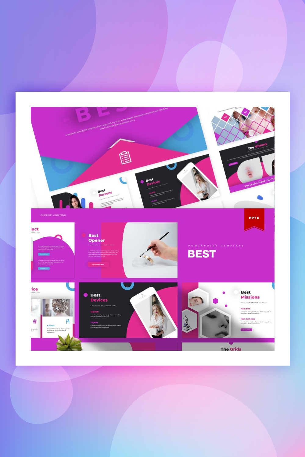 Best | PowerPoint Template
