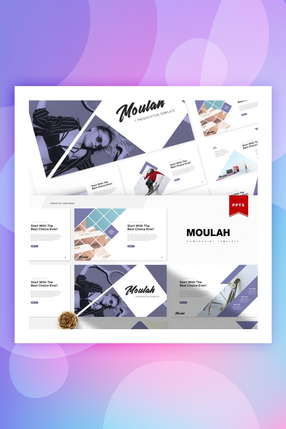 Moulah | PowerPoint Template