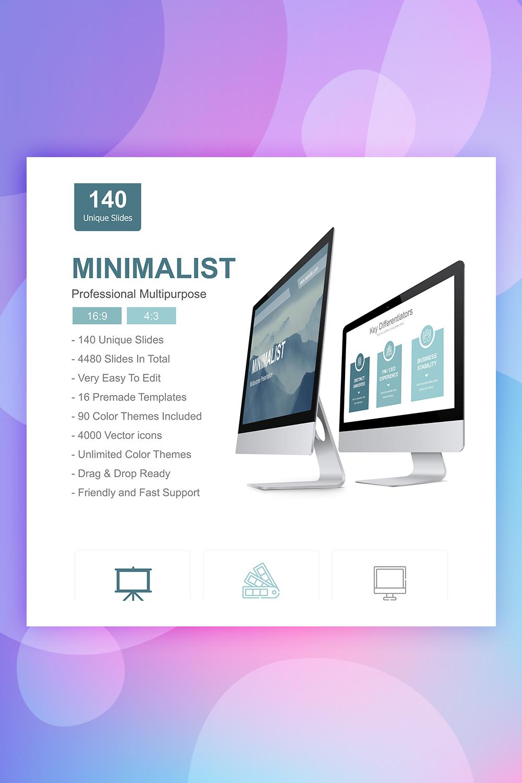 Minimalist Presentation PowerPoint Template