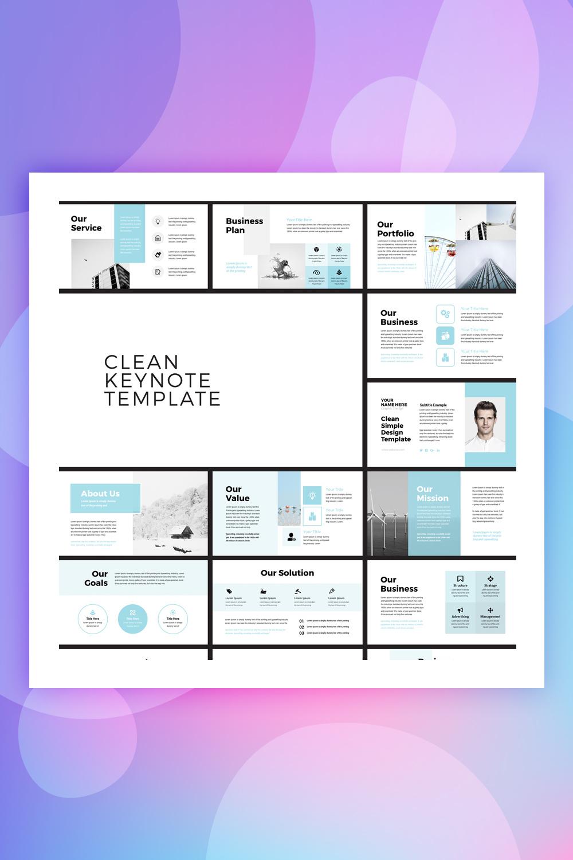 Pehela - Clean Minimal Business Keynote Template