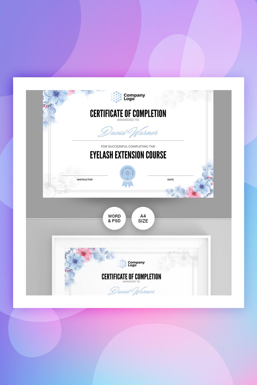 Company Certificate Template