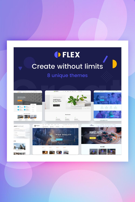 Flex Universal Website Template