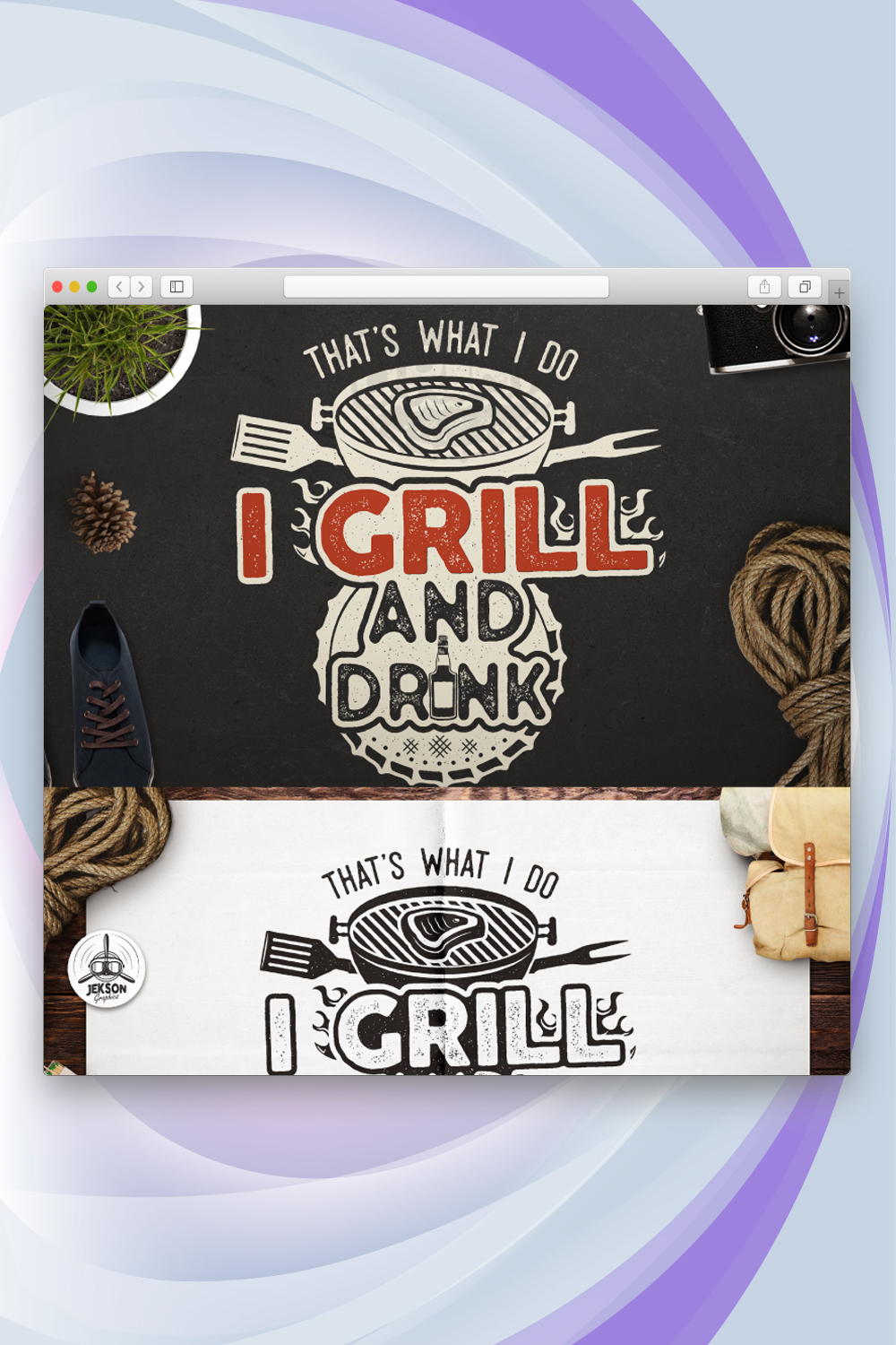 That's What I Do - I Grill and Know Things, BBQ T-shirt