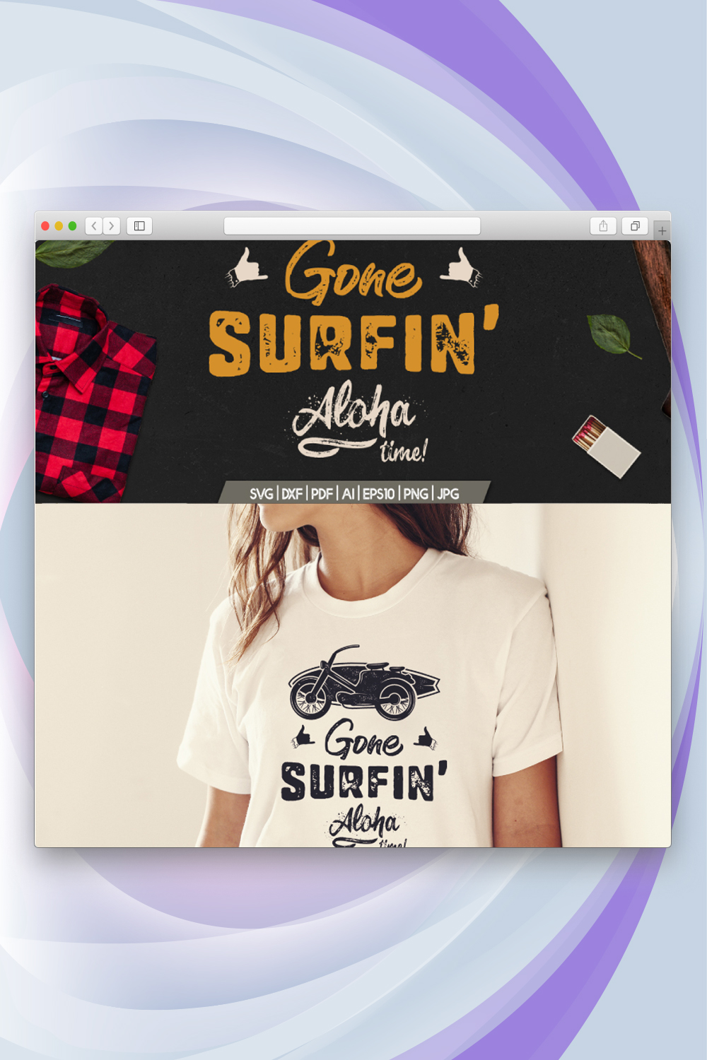 Gone Surfing - Aloha Time T-shirt