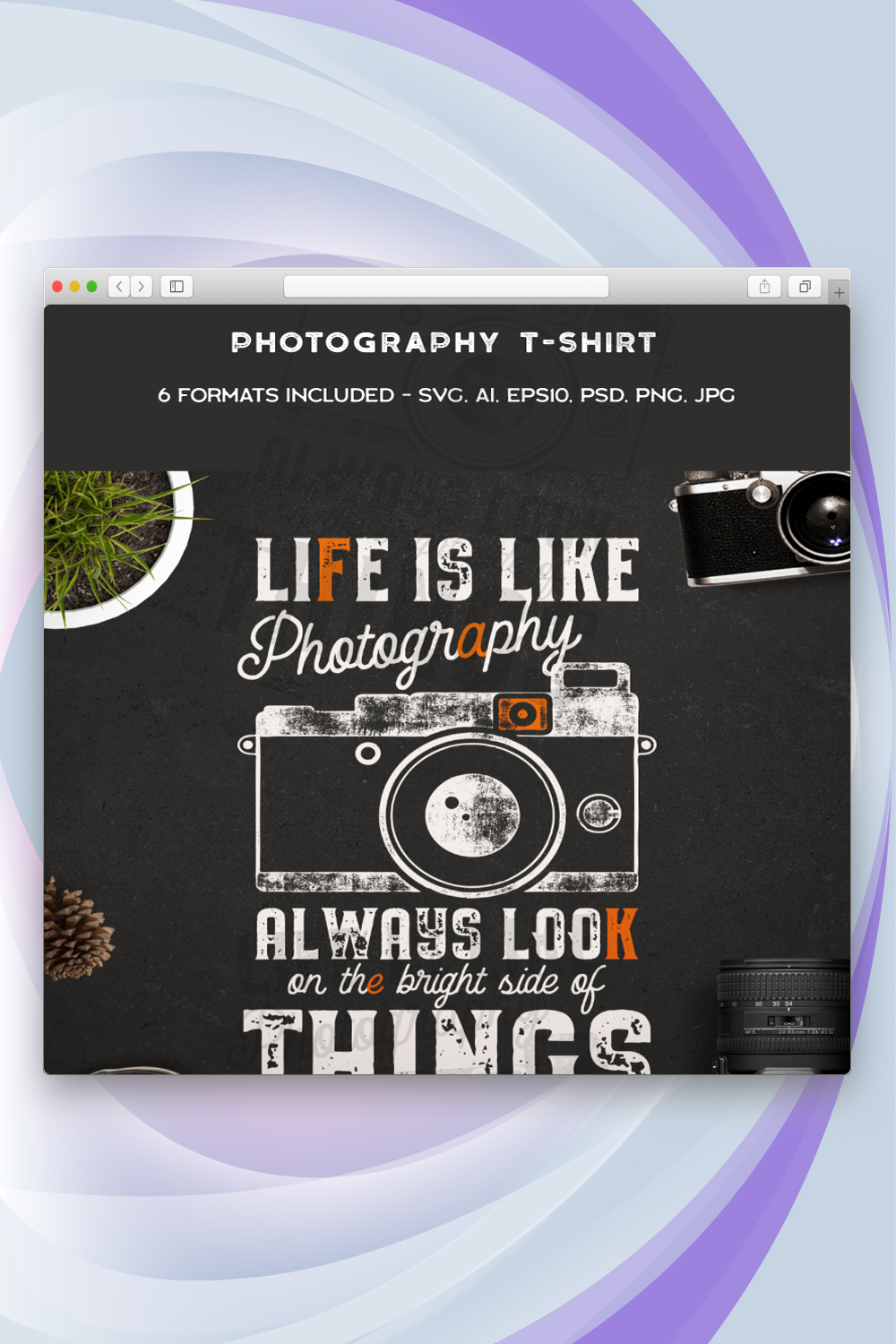 Life is Like a Photography T-shirt
