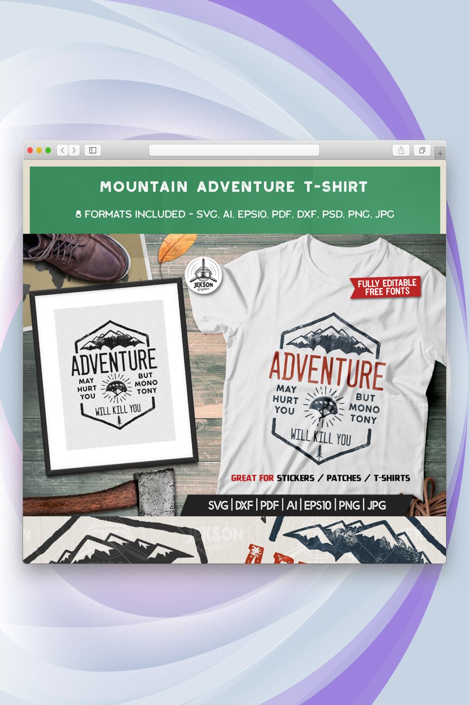 Mountain Adventure T-shirt