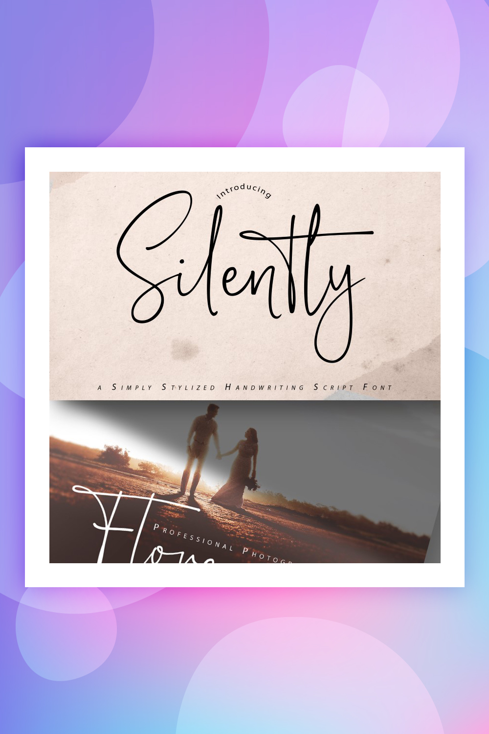 Silently | Handwriting Script Font