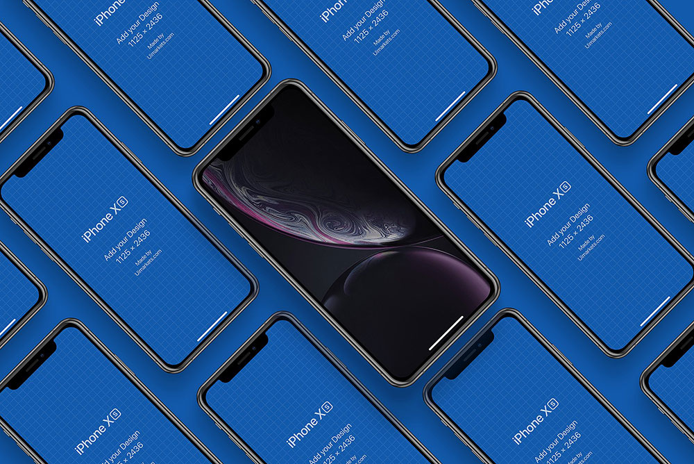 30 iPhone XS Mockups To Create Awesome Mobile Apps - Colorlib