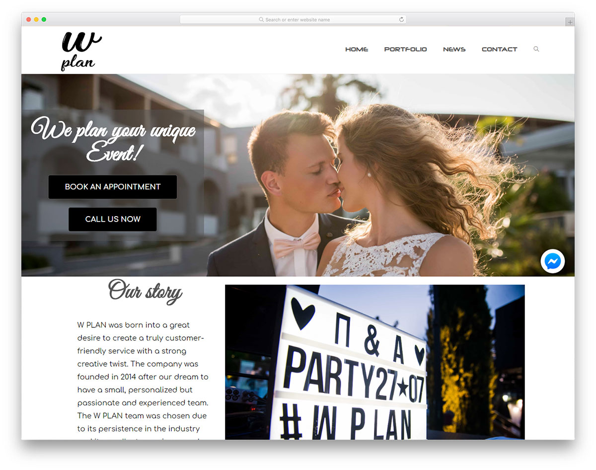 , 18 Best Party Planner Websites For Design Inspiration 2019, Rojak WP