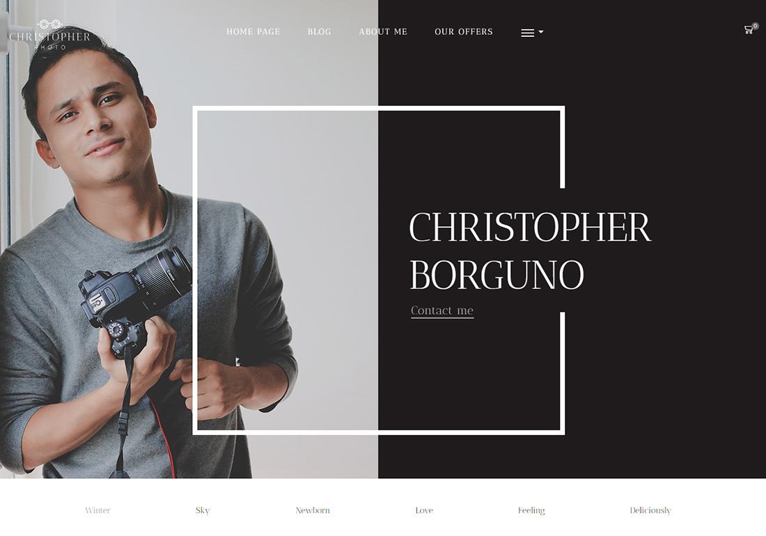 XStore Personal Branding WordPress Theme