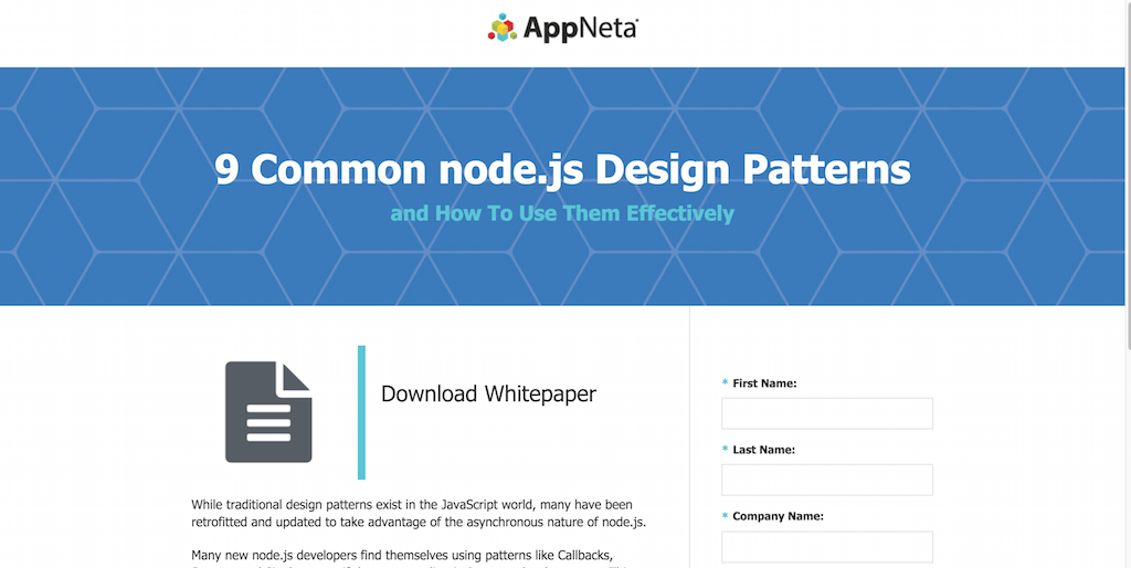 9 Common Node.js Design Patterns