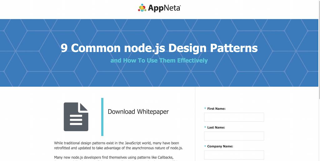 9 Common Node.js Design Patterns