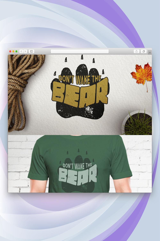 Don't Wake The Bear T-shirt