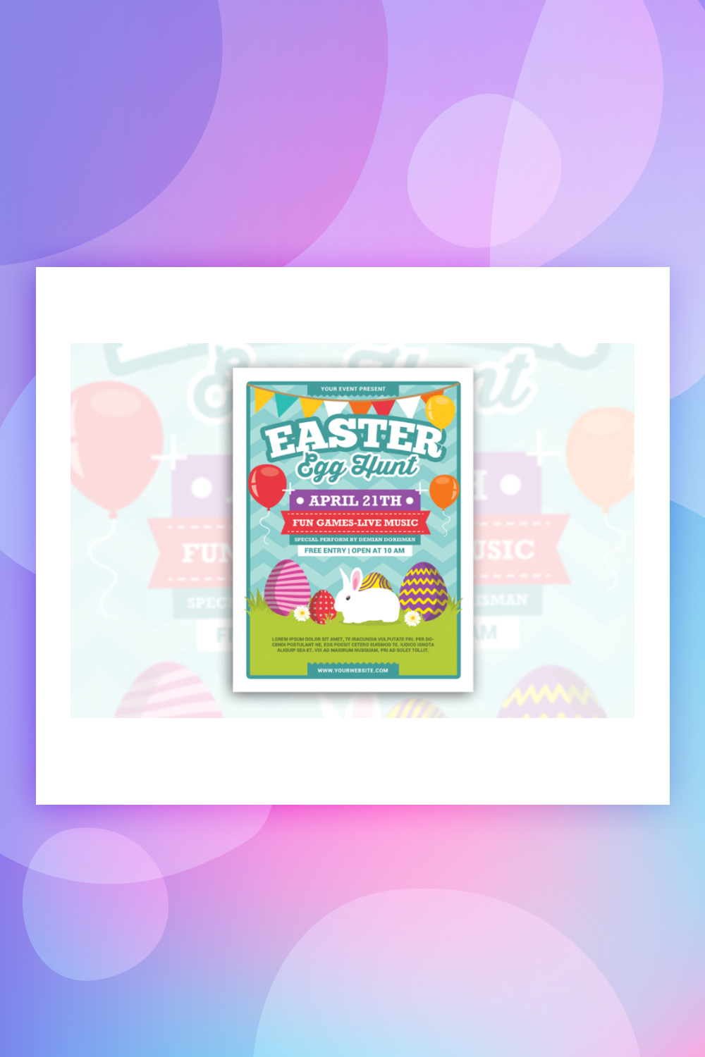 Easter Egg Hunt Corporate Identity Template